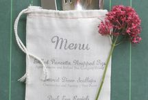 [Wedding] Menu