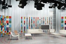 decor - stage - talk show - outdoor