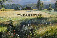 Landscapes in oil painting / pejzaże w moim malarstwie