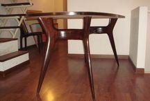 Table Design Italian Melchiorre Bega / Italian Design 1940 50