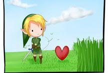Zelda stuff / Well Zelda stuff
