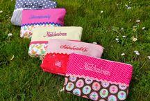 ✪ taschen von traumgenäht ✪ / Taschen für Kinder und Frauen, Kosmetiktaschen,   http://de.dawanda.com/shop/traumgenaeht/3231607-Halstuecher