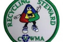 "CVWMA's Special Scout Patch / CVWMA has a Special Patch Program designed to teach Scouts that live within one of the CVWMA's thirteen member jurisdictions the importance of being a ""recycling steward"" in their community. For more information, visit our website http://cvwma.com/cvwma-education/special-scout-patch-program/"
