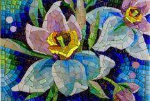 mosaiquismo flores