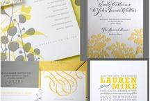 wedding / yellow & grey