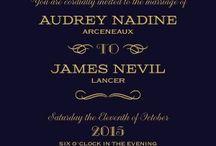 Gold & Navy elegant Wedding