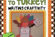 1st Grade Thanksgiving