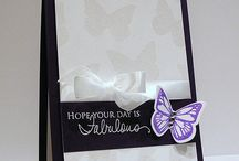 Butterfly cards / by Alice Sebring