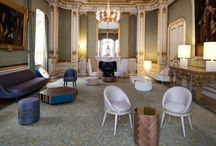 Lancaster House - London 2012 / Lee Broom curated a central room in London's historic Lancaster House where The British Business Embassy will play host to global influential business leaders during the Olympic and Paralympic Games. The Gold Room by Lee Broom is the only room dedicated solely to one designer at Lancaster House. The historic room juxtaposed against Broom's current collections of modern, contemporary pieces exemplifies the designer's ethos of connecting the past and the future, the traditional and contemporary.