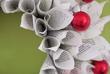 A Very Bookish Christmas / All things festive, with a lovely bookish slant. LOVE!