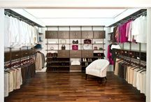 My Organized Closet / Organized Living Closet Image #organizedliving #organizedcloset