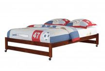 WOOD BEDS / We're very proud of our selection of Wood Beds for Kids. Our range of quality beds from leading brands is perfect for any child's bedroom, and Mom's Bunk House guarantees 100% satisfaction with every purchase.