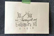 Calligraphy / by Kathleen Emma