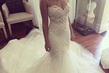 Svadbné šaty inšpirované morskými vílami