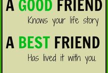 True Story / These things are just quotes and pics inspiring me about true friendship & life....some cheeky but very true....