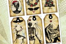 Alternative gift tags
