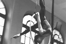 Aerial Hoop / dancing in the air