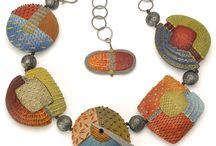 Hand made polymer clay beads