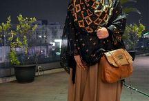 Hijab,fashion and bag