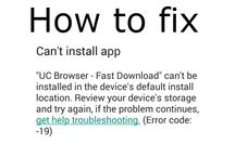 How to Fix Error Code – 19 on Google Play Store