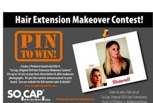 So.Cap. Original USA Hair Extensions Makeover Contest