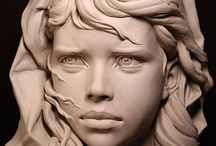Sculpting / A collection of beautiful sculptures in both digital and traditional form
