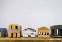 Petites / Elementi costruiti con legno di recupero che si inseriscono nei nostri ambienti, rendendoli ancora piú particolari e unici.