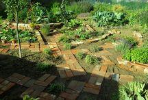 my garden / new brick garden