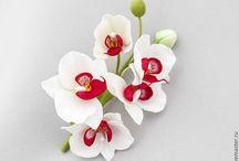 выкройки цветов из фолимина