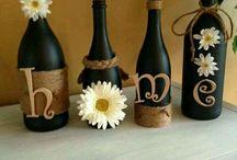 Przerabianie butelek po winie