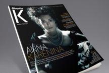 REDINK magazine design