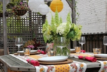 { outdoor spaces } / Bring the outside in and the inside out.