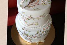 My Cake painting / Cake hand Painting, Cake design