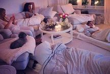 Sleepover with friends