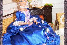Barbie / moje šití a háčkování na Barbie