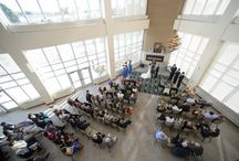 AWCC Weddings / A collection of photos from past weddings here at the UW Oshkosh Alumni Welcome and Conference Center.