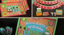 Luau girl birthday theme