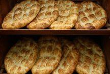 pide ve ekmekler