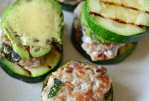 """Easy Paleo Unsandwiches / Primarily lunch fodder. Sandwiches made with out grain-based bread or made with a Paleo version of """"bread""""."""