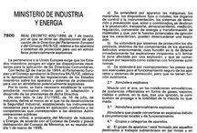 Normativa ATEX (Atmósferas Explosivas) / Normativa ATEX (Atmósferas Explosivas)