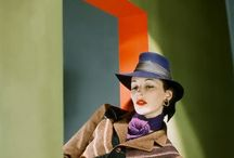 Vintage colors / 30's and 40's colorful clothing