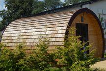 Cedar shingles / The beauty of natural cedar.