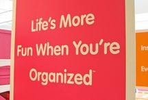 organize. / by Liza Brooks-Winkler