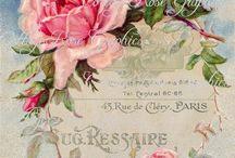 Шебби/бохо / Цвета полупрозрачные, легкий налет старины, насыщенная (перенасыщенная) и пушистая композиция. Надписи