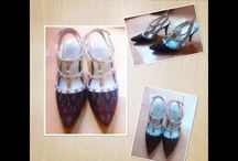 Classic/Unique  Shoes #Indonesian ikat# / songket#Endek#batik