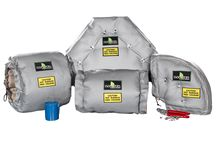 ISOCOVERS Insulation Systems / Insulation for pipe and steam components.