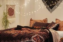 Slaapkamer hippie