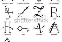 Алхимия символы