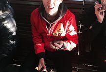 Jimin being cute