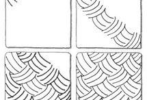 Tangle vzory